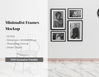 Free Minimalist Frame Mockup