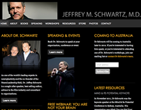 Website for Speaker/Author, Jeffrey M. Schwartz, M.D.