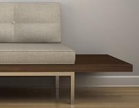 Cantilever Sofa