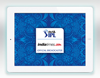 IPL 2012-13 Indiatimes Official iPad App