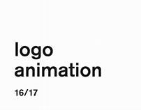 logo animation 16/17