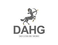 Dahg Logo Design
