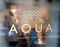 Branding: Aqua Restaurant at Blue Waters Inn, Tobago