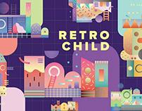 Retro Child by by YouWorkForThem