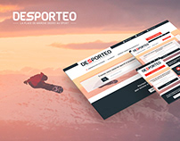 Web design Desporteo