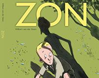 'ZON' (=SUN ) 62 pages comic / graphic novel