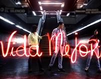 Light Painting - Campanha Hugo Chavez 2012