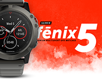 Garmin Fenix5 Watch Redesign concept