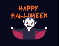 Animated Halloween Characters
