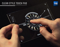 Clean Style Touch Pad