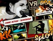 Comic Action - Slideshow