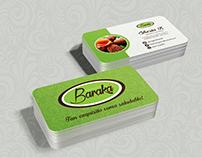 Tarj. Personal. Organic Baraka Cliente: Sherin R.