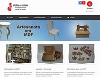 Site para Marcenaria JJ Ideias e Artes em Porto Alegre.