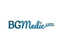 BG medic logo design