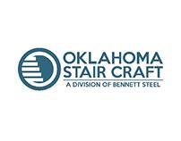 Oklahoma Stair Craft concept logo