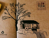 Cover for Slow Tech Magazine