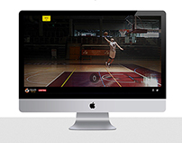Basketball Player - Website