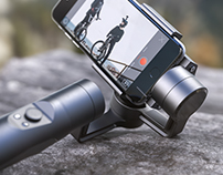 FlowMotion Smart Phone Stabilizer | Product CGI
