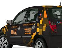 HAZ Com. Visual - Projeto envelopamento frota