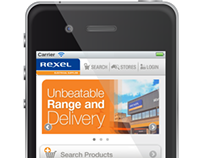Rexel WebMobile - Graphics for Smart Phone Application