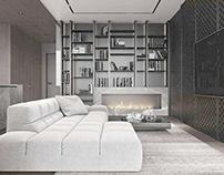 Apartment in Kiev by IQOSA