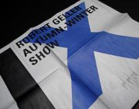 ROBERT GELLER, AW09 Show Invitation