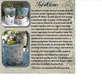 TufaGems - hypertufa planters elevated to an art!