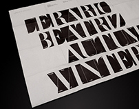 LERARIO BEATRIZ, AW09 Show Invitation