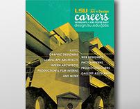 LSU Design Careers Poster