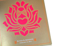 Wedding Card - Ritika & Abhishek