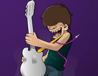 Fake Guitarist
