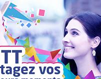 Campagne Aéroport / Tunisie Télécom