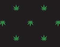 Cannabis Leaf AOP