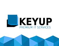 KEYUP redesign