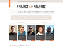 Project Soapbox Website