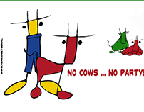 No cows ... no party!