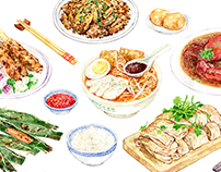 Singaporean Dishes
