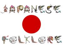 Letras y Figuras: Japanese Folklore