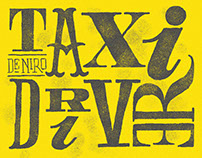 Typographic Movie Poster Series