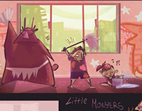 Little Monsters Visual Development August 2012