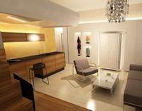 interior design - studio apartment