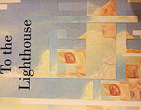 """BOOK COVER DESIGN- """"TO THE LIGHTHOUSE"""""""