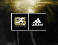 Adidas Golden Stripes