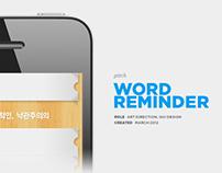 Word Reminder