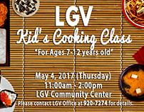 LGV Cooking Class (Photo Retouching and Manipulation)