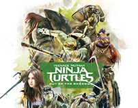 Teenage Mutant Ninja Turtles / Alternative Movie Poster
