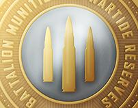 Wartide Coin Design - Battalion 1944