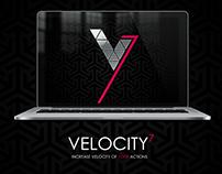 Velocity 7 logotype