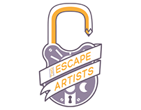 Two Escape Artists Branding