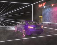 Cyberpunk Tunnel